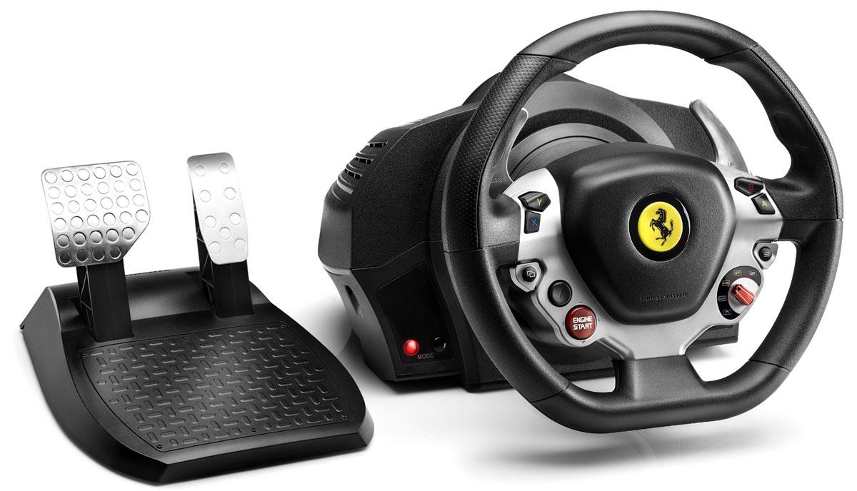 Thrustmaster TX RW Ferrari 458 руль для Xbox One (4460104) цена