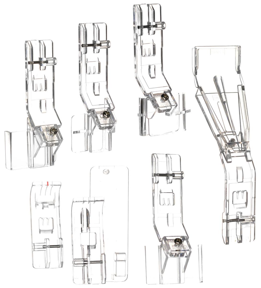 Merrylock комплект лапок для плоских швов