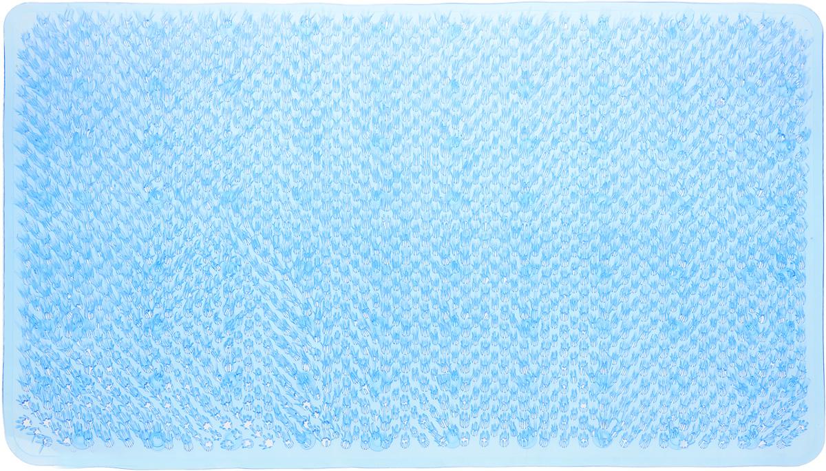 Коврик для ванной Vortex Травка, противоскользящий, цвет: в ассортименте, 65 х 36 см коврик vortex травка темно коричневый 60х90см на противоскользящей основе