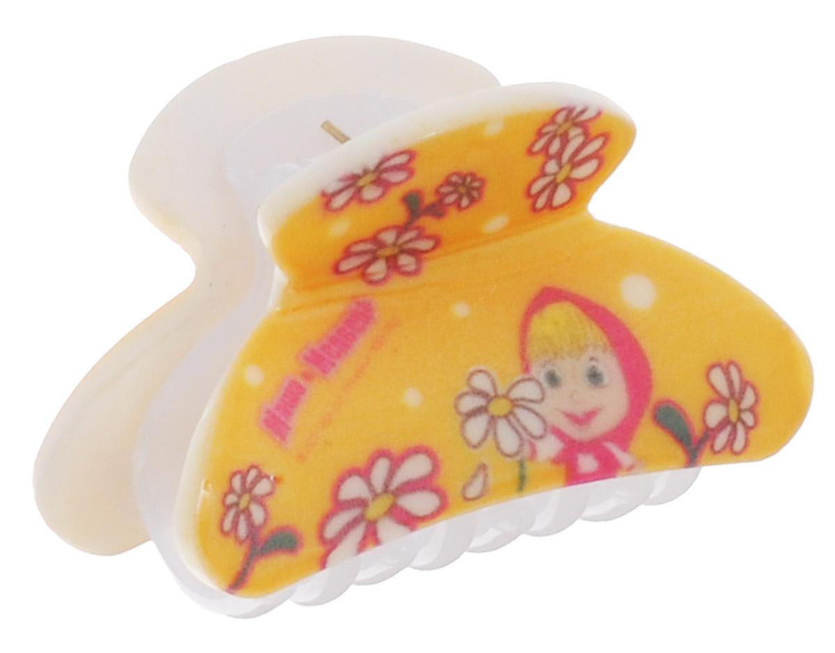 Заколка для волос Маша и Медведь трехколесные самокаты 1 toy маша и медведь с ветрячком