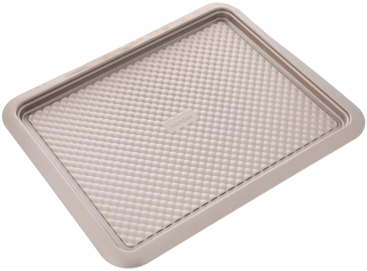 Противень Nadoba Rada, прямоугольный, с антипригарным покрытием, 41,5 х 32 см противень home queen прямоугольный 32 см х 20 см 5 шт