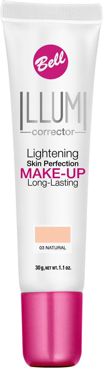 Bell Флюид суперстойкий корректирующий и придающий сияние Illumi Lightening Skin Perfection Make-up 30 гр