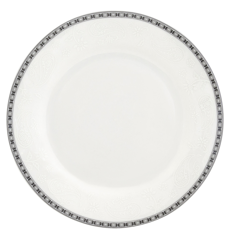 "Набор десертных тарелок Esprado ""Arista White"", диаметр 20 см, 6 шт"