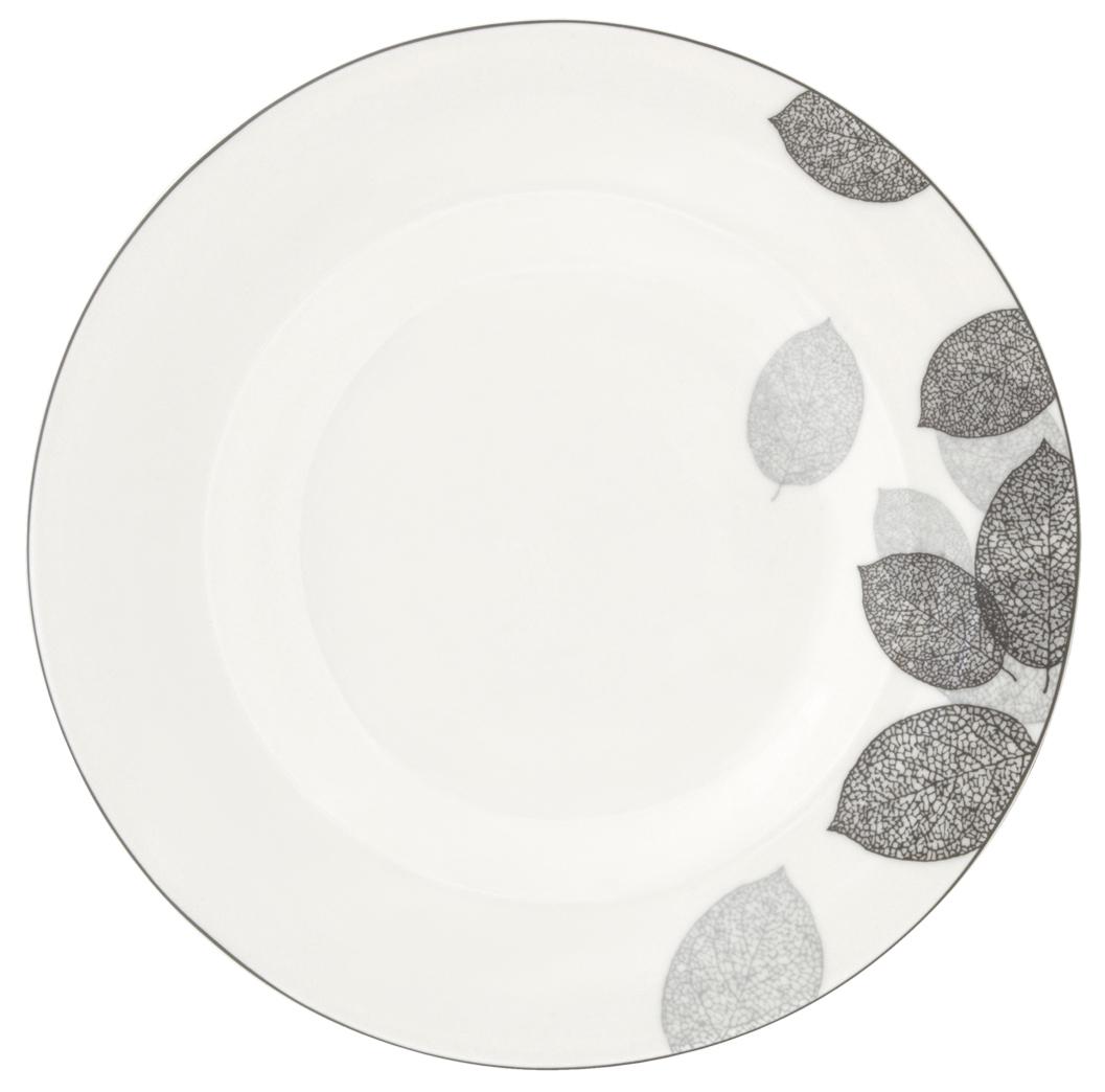 """Набор обеденных тарелок Esprado """"Bosqua Platina"""", диаметр 22,5 см, 6 шт"""