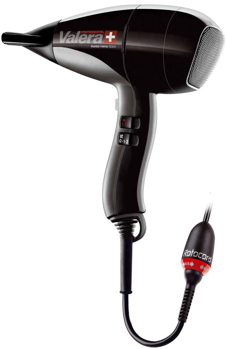 Valera SN 9000Y RC Swiss Nano, Black профессиональный фен