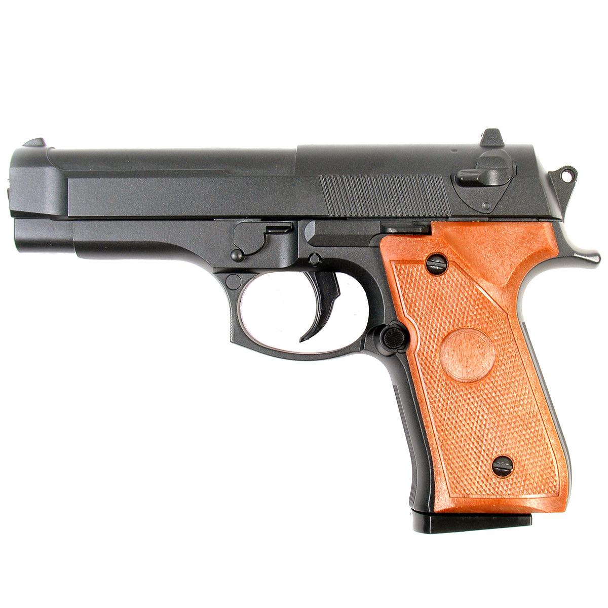 Пистолет страйкбольный Galaxy G.22, пружинный, 6 мм пистолет страйкбольный galaxy g 3 пружинный 6 мм