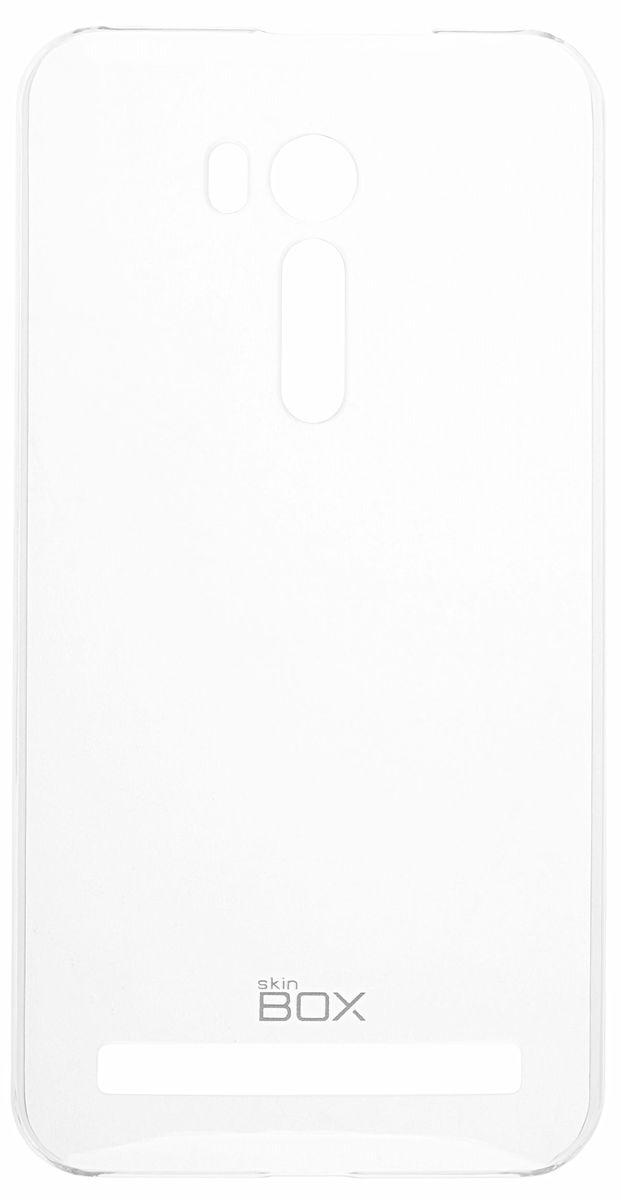 Skinbox Crystal 4People чехол-накладка для Asus Zenfone Go ZB551KL, Clear стоимость