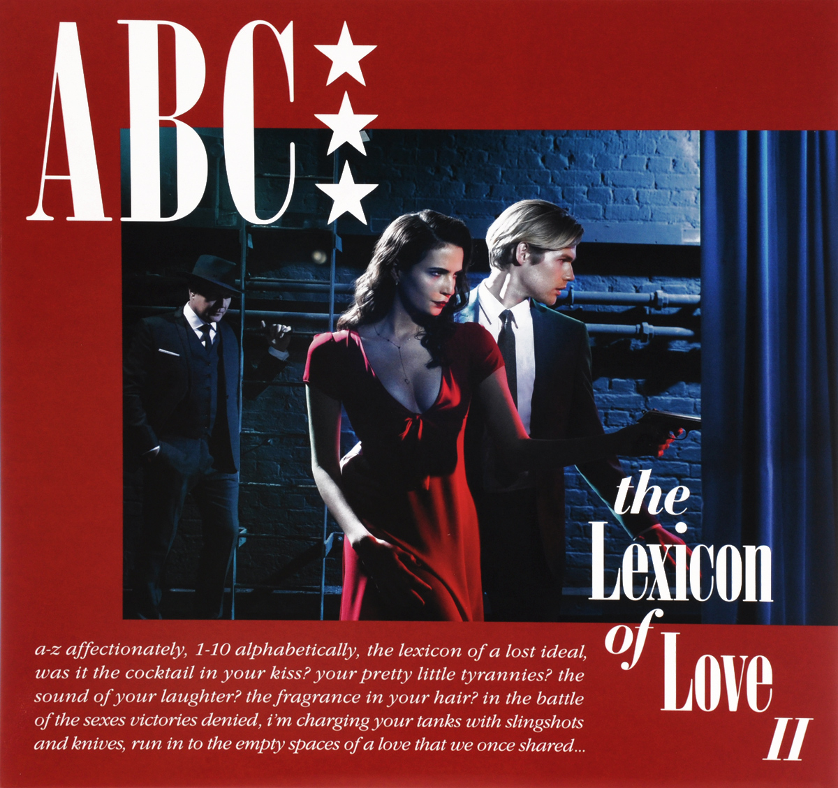 ABC ABC. The Lexicon Of Love II (LP) indian version of k abc