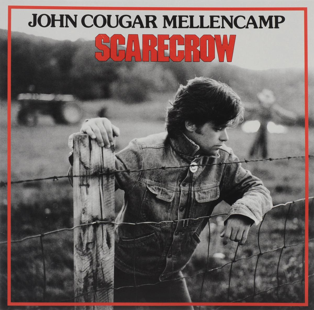 лучшая цена Джон Мелленкамп John Cougar Mellencamp. Scarecrow (LP)