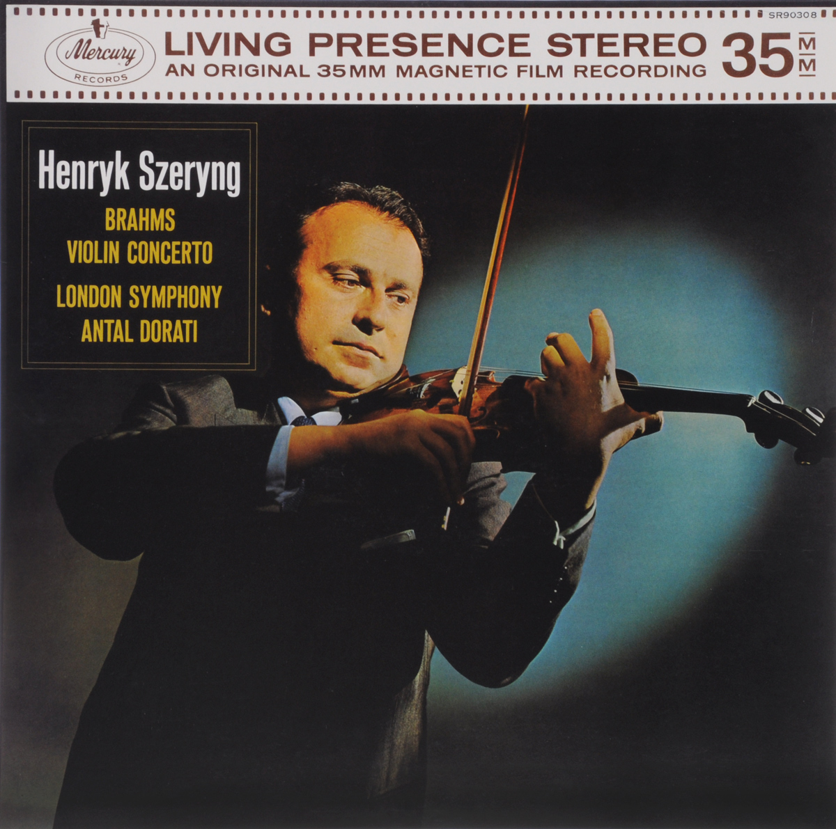 Генри Шеринг,Антал Дорати,The London Symphony Orchestra Henryk Szeryng, Antal Dorati, London Symphony Orchestra. Brahms. Violin Concerto (LP) генри шеринг чарльз райнер szeryng plays kreisler and other tresures for the violin