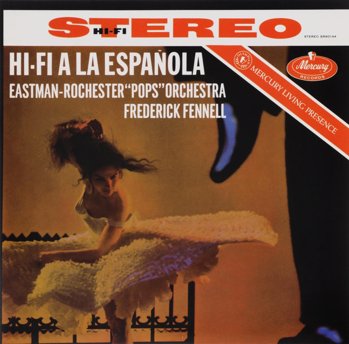 Перси Фэйт,Роландо Вальдес-Блейн,Eastman-Rochester Pops Orchestra Frederick Fennell. Hi-Fi A La Espanola (LP) hi fi hi fi лучшее 2 lp