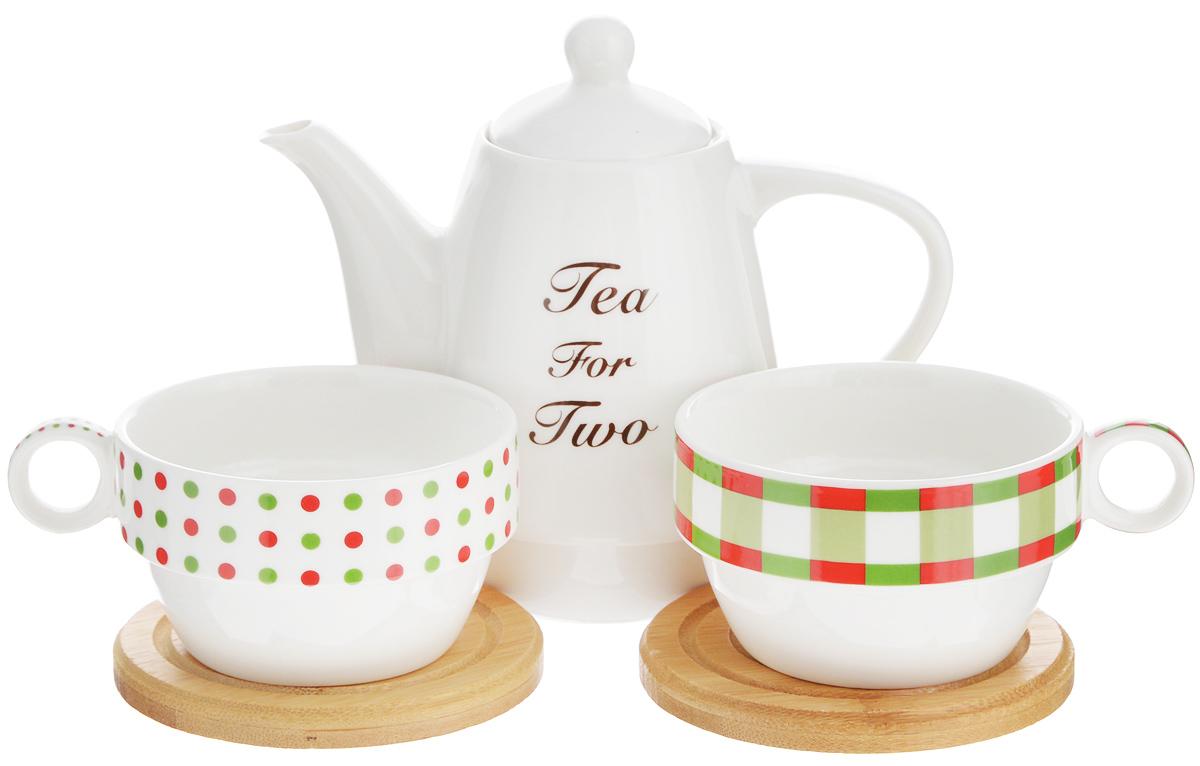 Набор чайный Ecowoo 2012243U набор коробов для хранения ecowoo boy and girl 2 шт