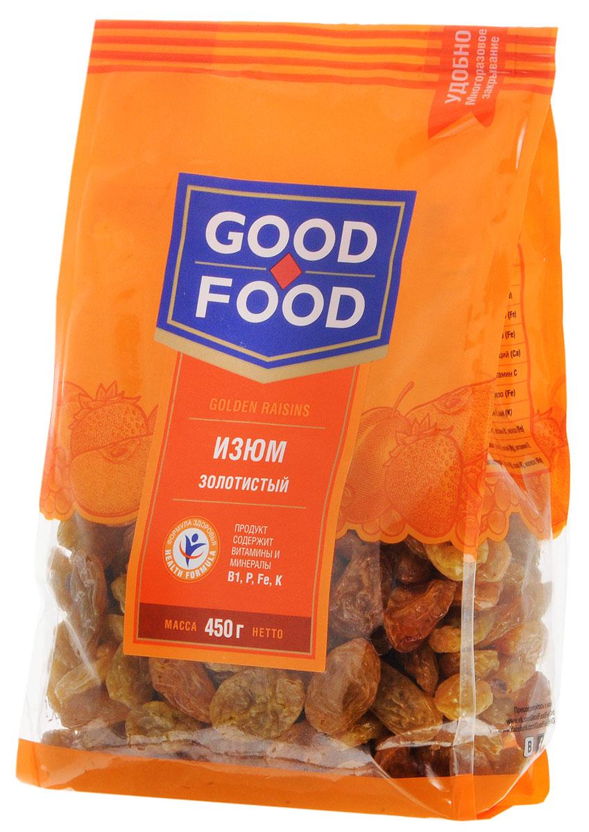 Good Food изюмзолотистый,450г