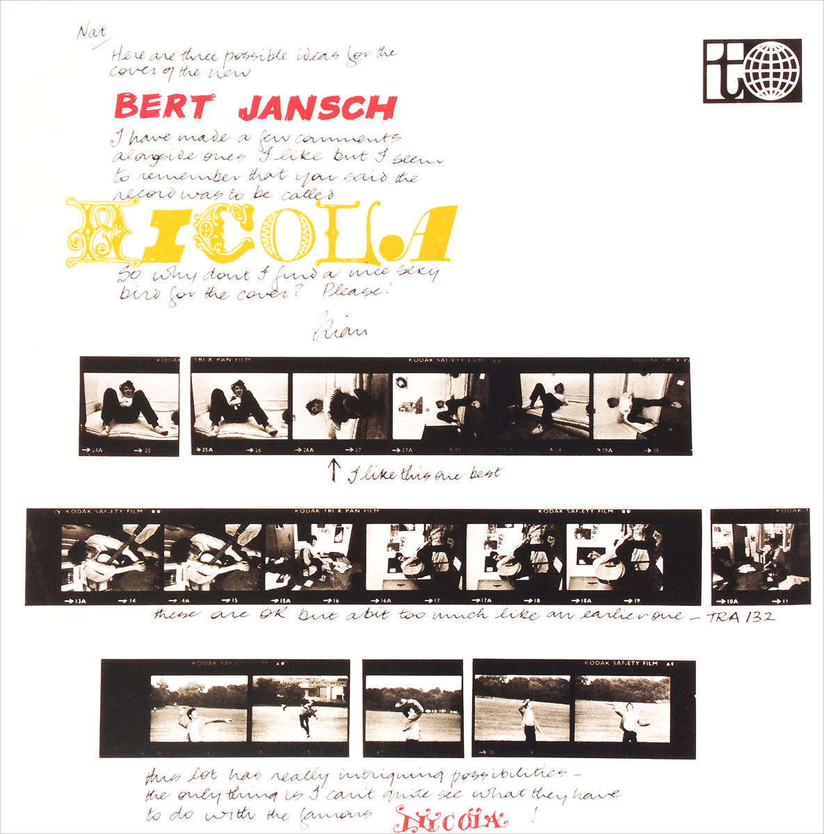 Берт Дженч Bert Jansch. Nicola (LP) берт дженч bert jansch it don t bother me