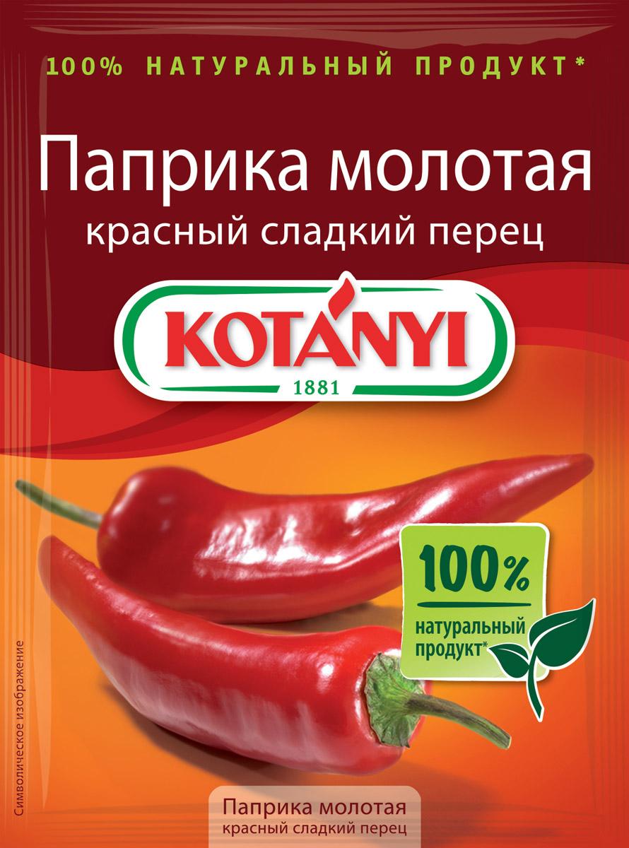 Фото - Kotanyi Паприка молотая красный сладкий перец, 25 г пудовъ паприка красная сушеная молотая 80 г