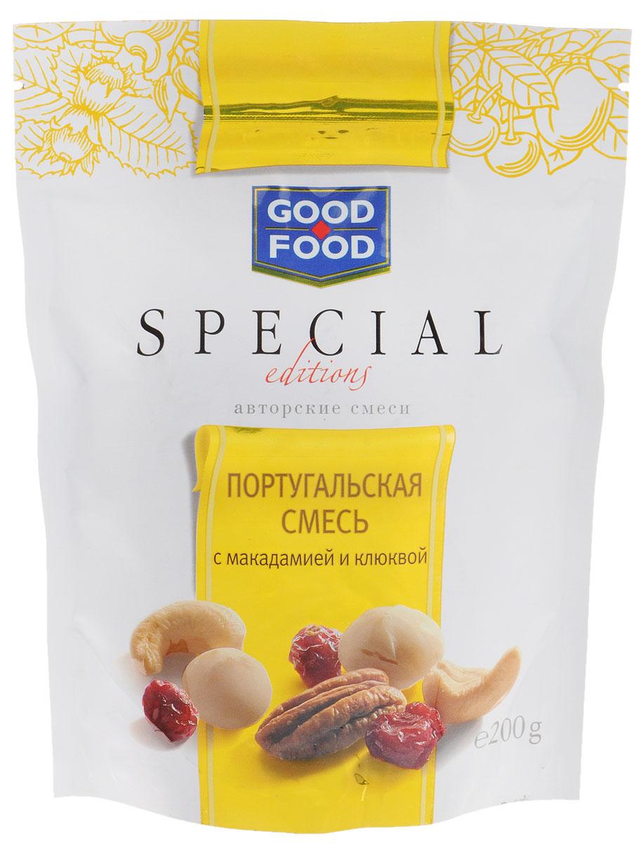 Good Food Special португальскаясмесьсмакадамией и клюквой,200г