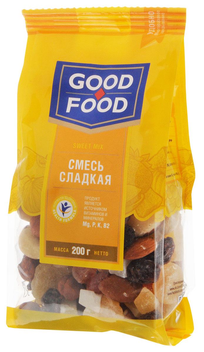 Good Foodсмесьсладкая,200г смесь для выпечки почти печенье матча шоколад кокос 370 г