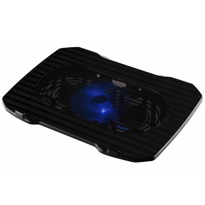 Подставка для ноутбука Buro BU-LCP156-B114, Black подставка для ноутбука buro bu lcp156 b208 15 6355x260x21мм 2xusb 2x 80ммfan 560г металлическая сет