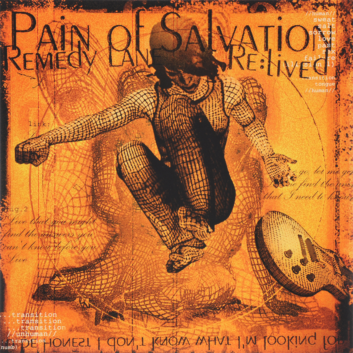 Pain Of Salvation Pain Of Salvation. Remedy Lane Re:Lived (2 LP + CD) ending themes on the two deaths of pain of salvation limited edition 2 dvd 2 cd