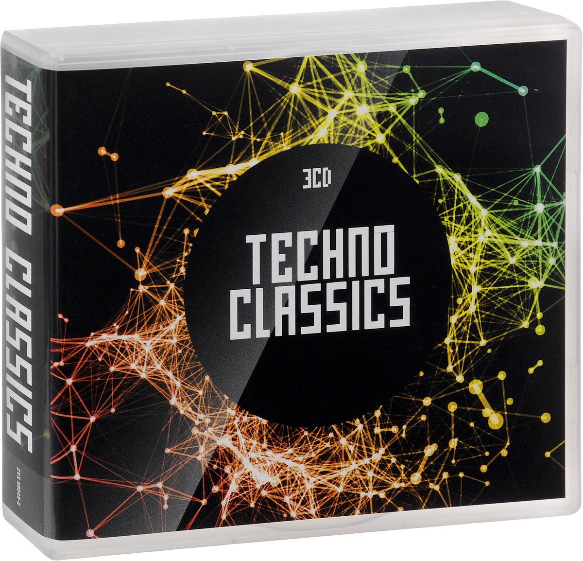Misar,The Hose,Майк Коглинс,Nalin & Kane,G Punkt,`Coolcut`,Beatrice,The Ventures,Iridium-Gold,Three Drives On A Vinyl Techno Classics (3 CD) techno classics