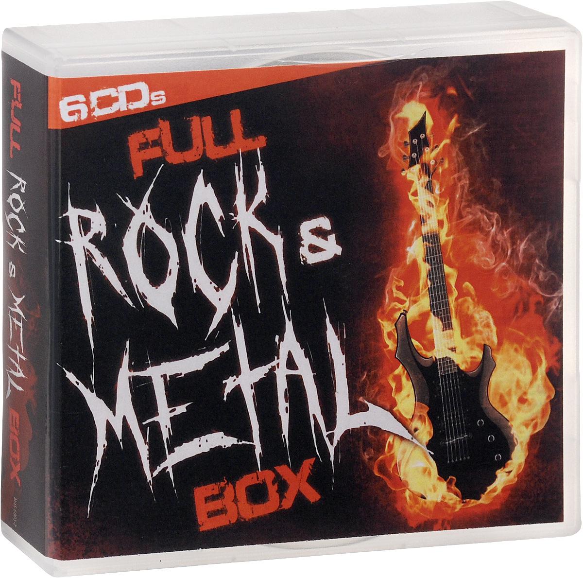 Machine Head,Scar Symmetry,Lacuna Coil,Dimmu Borgir,Waltari,Mono Inc.,Assemblage 23,Amorphis,De/Vision,Milu Full Rock & Metal Box (6 CD)
