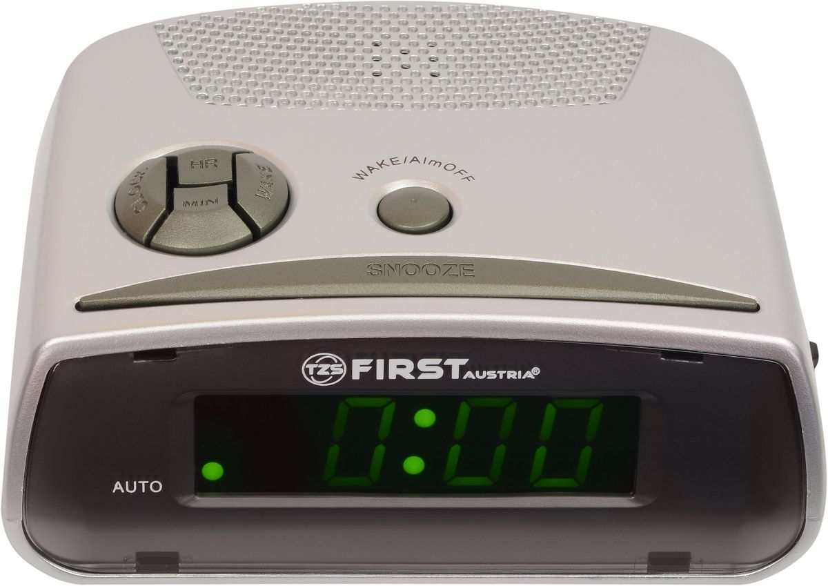 Будильник First FA-2410-GR