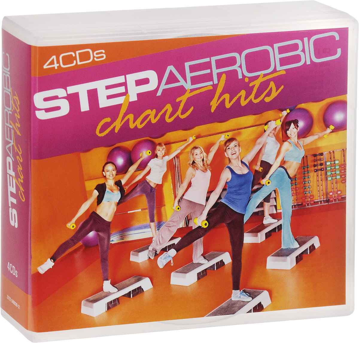 Step Aerobic. Chart Hits (4 CD)