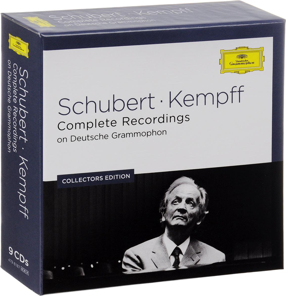 Вильгельм Кемпф Wilhelm Kempff. Schubert. Complete Recordings On Deutsche Grammophon. Collectors Edition (9 CD) wilhelm kempff schubert impromptus d 899