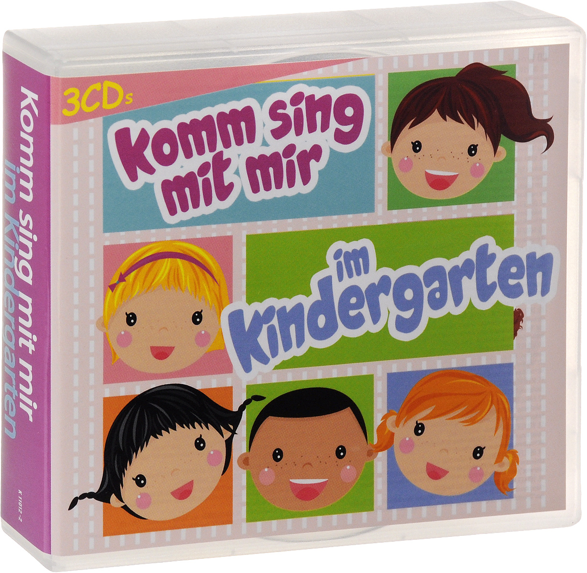 Detlev Jocker,Manfred Kessler,Volker Rosin,Bibi Blocksberg,Klaus Neuhaus,Meggi Sachs,Ulrich Turk,Cinema,`La Luna`,Iris Komm Sing Mit Mir. Im Kindergar (3 CD) manfred kessler detlev jocker fredrik vahle dietlind grabe klaus neuhaus volker rosin klaus w hoffmann die friedrichshainer spatzen suppi huhn die kinderkonige доминик элберг bibi blocksberg nena die rainbowkids kids party hits 10 cd