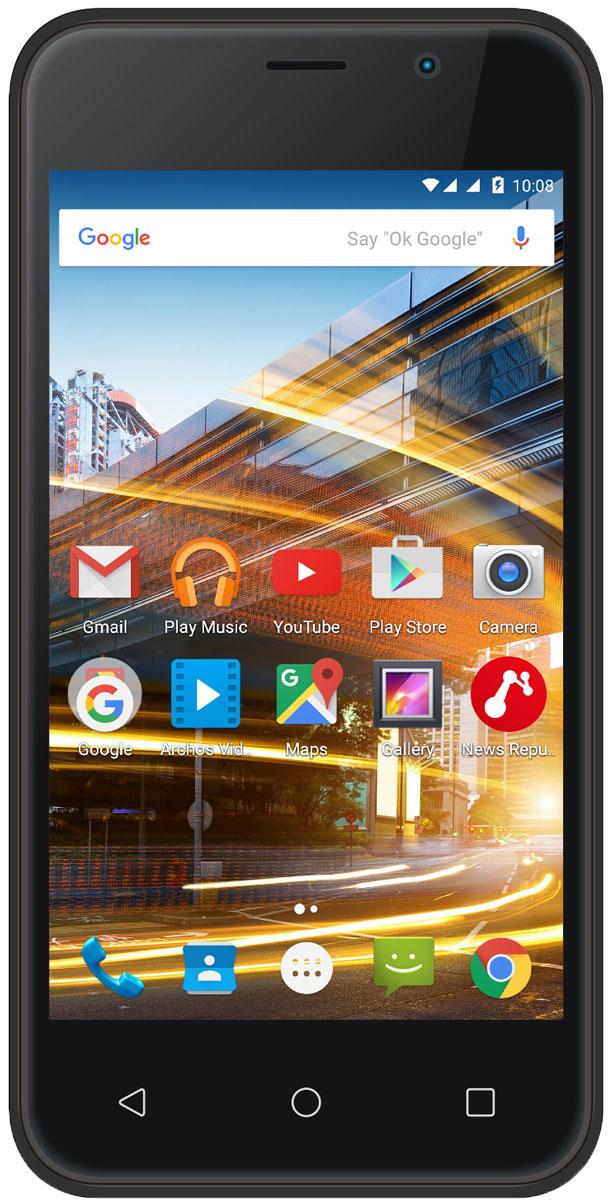 Смартфон Archos 40 Neon 8 GB, черный archos 70b neon