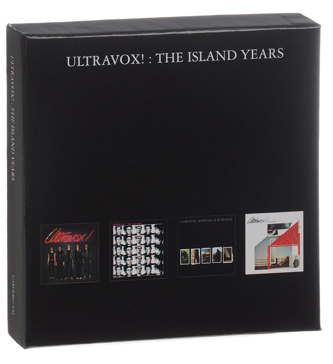 Ultravox Ultravox! The Island Albums (4 CD) ultravox ultravox systems of romance