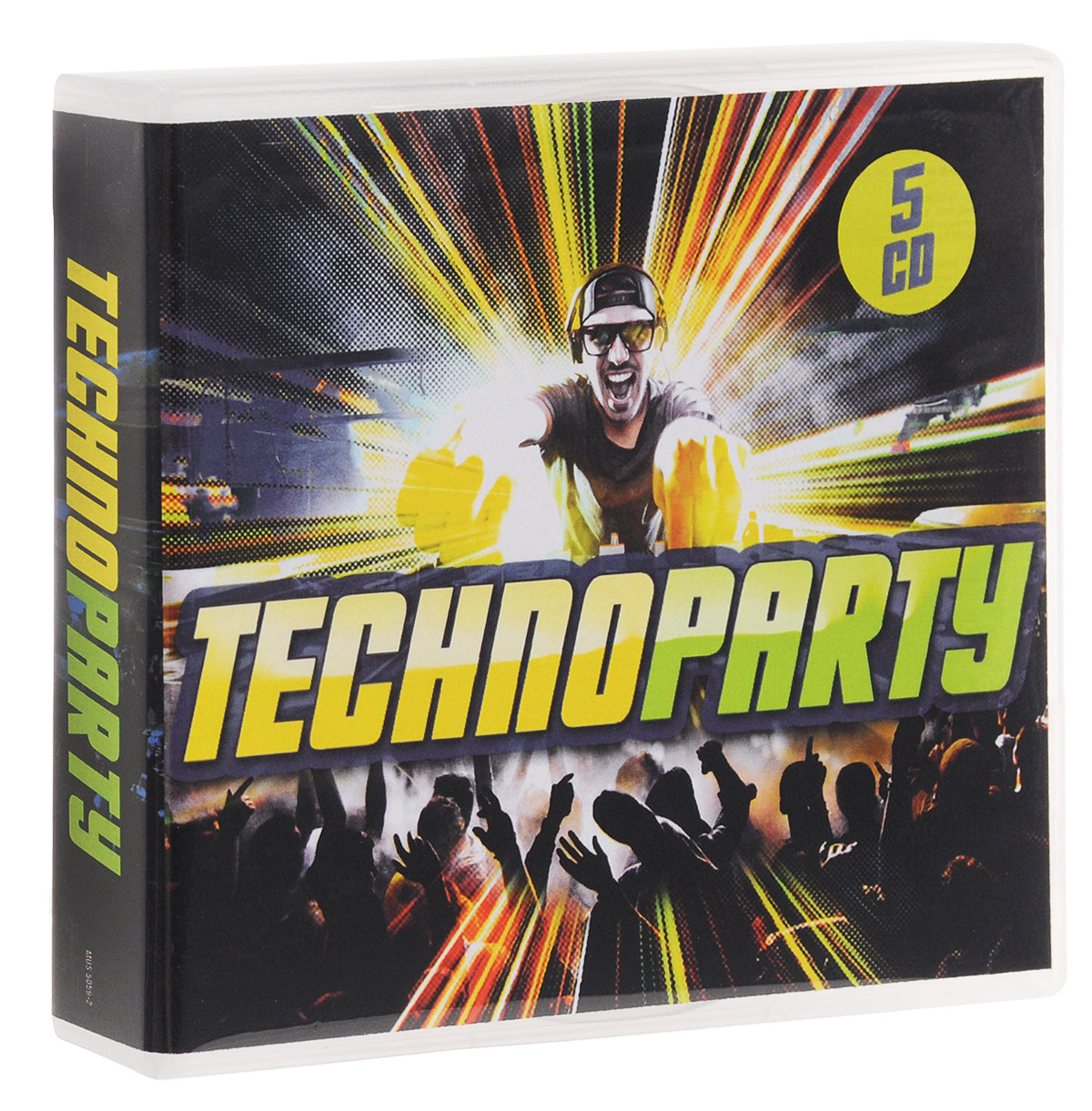 Techno-Party (5 CD) techno 5