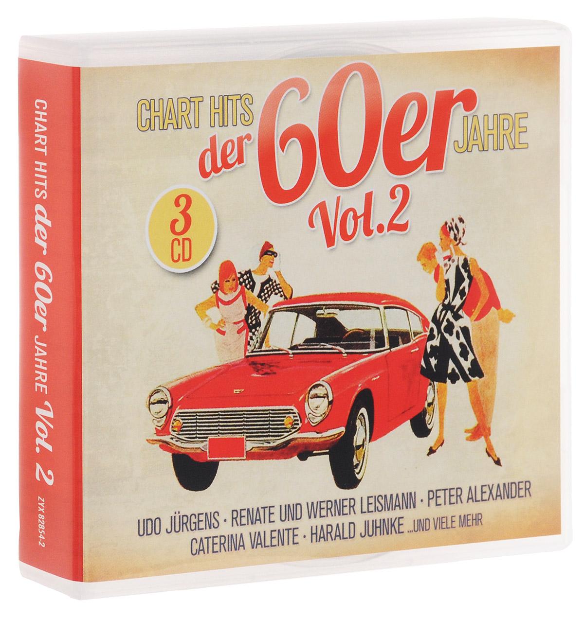 Chart Hits Der 60er Jahre Vol. 2 (3 CD) бэрри биггс total reggae chart hits in reggae style 2 cd