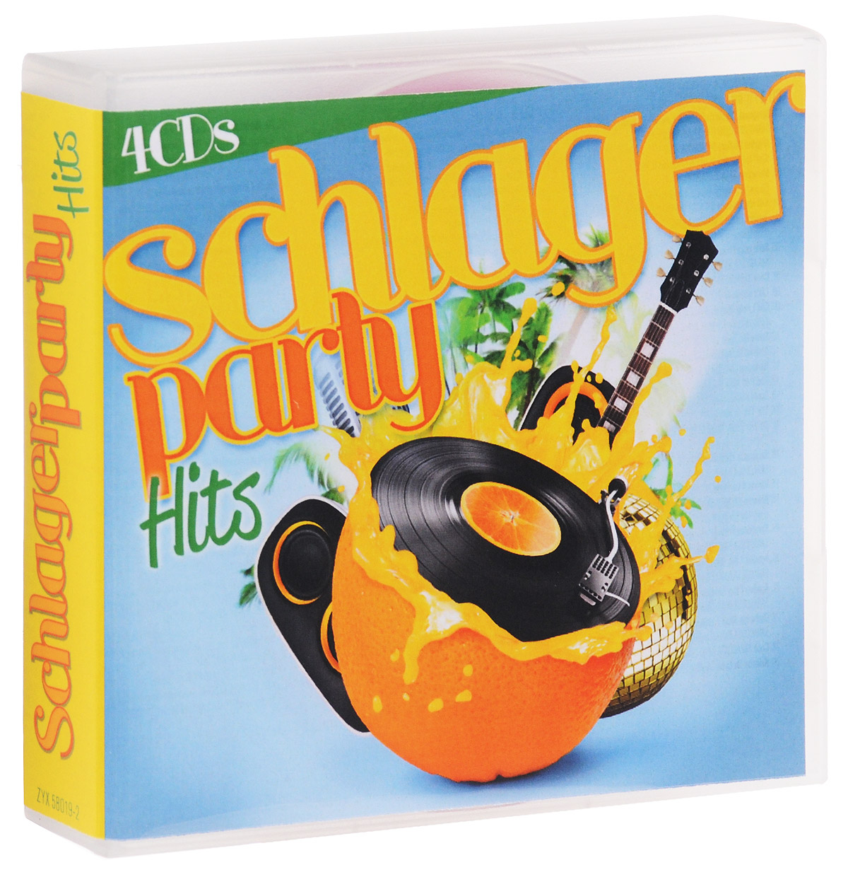 Schlagerparty Hits (4 CD) slade wall of hits cd