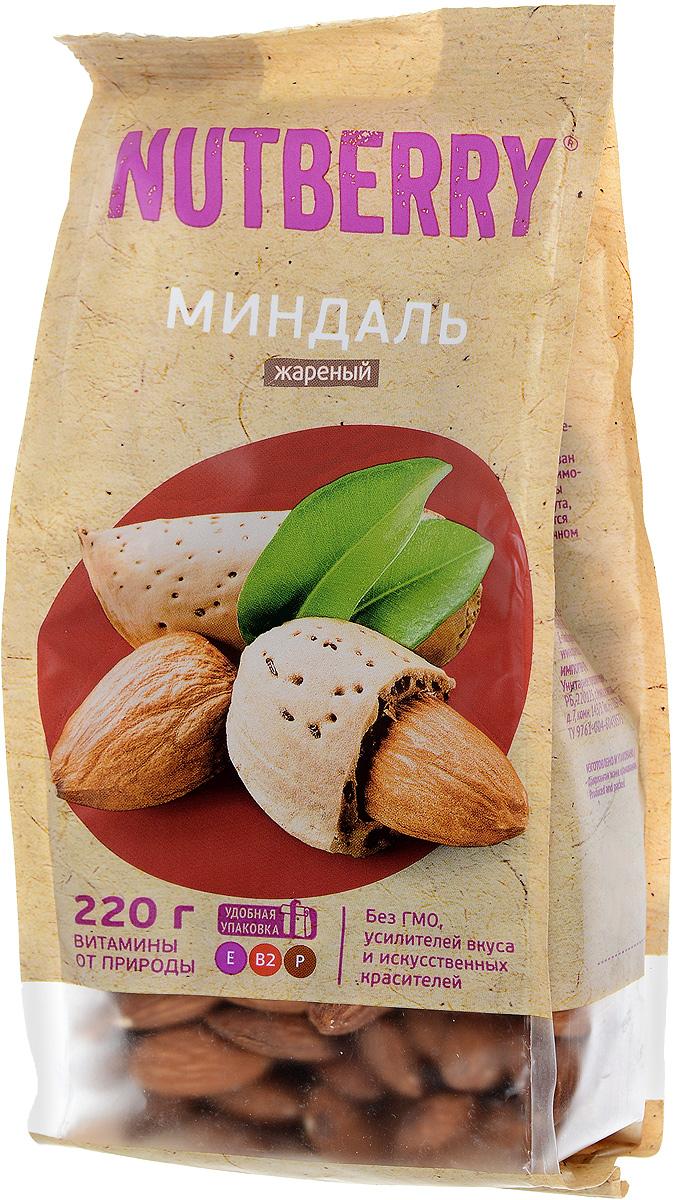 Nutberryминдальжареный,220г4620000676058Миндаль – чудесный орех, который имеет насыщенный, легкий и чуть горьковатый вкус. Польза миндаля: полезен при гипертонии, кроме того миндаль рекомендуют всем лицам, достигшим тридцатилетнего возраста, в качестве профилактического средства от атеросклероза при повышенном уровне холестерина.