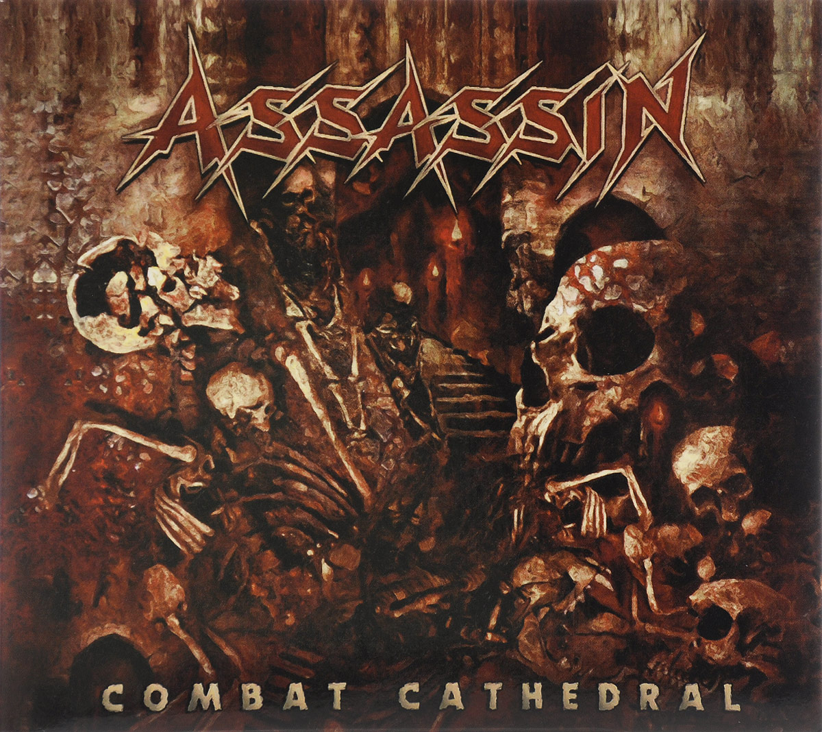 Assassin Assassin. Combat Cathedral cathedral