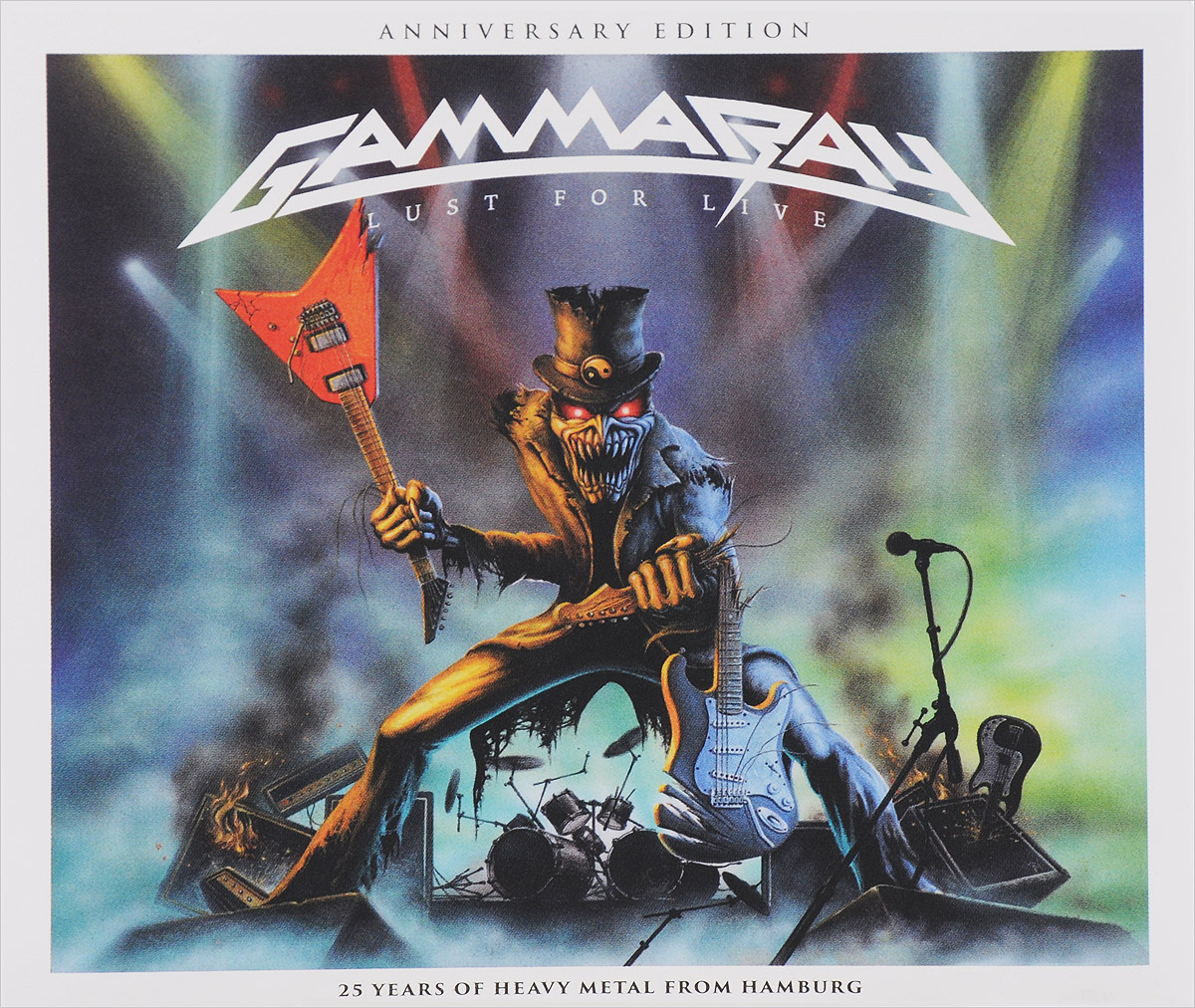 Gamma Ray Gamma Ray. Lust For Live. Anniversary Edition gamma ray gamma ray the best of gamma ray 2 cd