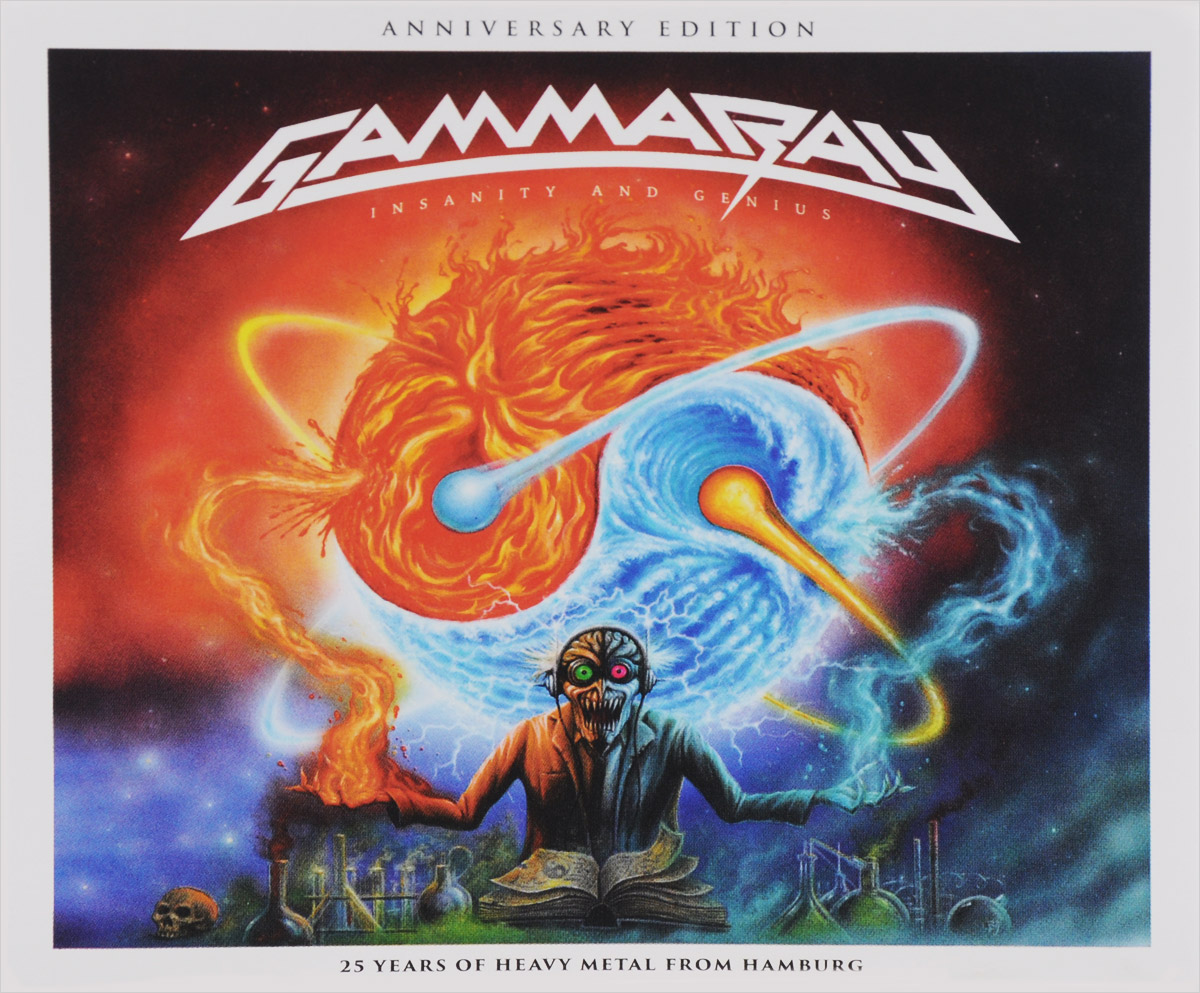 Gamma Ray Gamma Ray. Insanity And Genius (2 CD) gamma ray gamma ray the best of gamma ray 2 cd