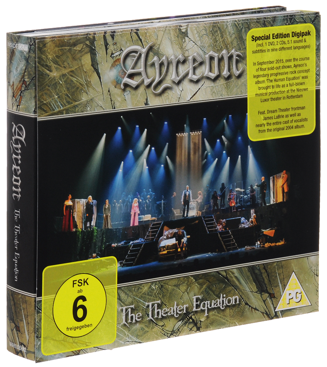 Ayreon Ayreon. The Theater Equation (2 CD + DVD)