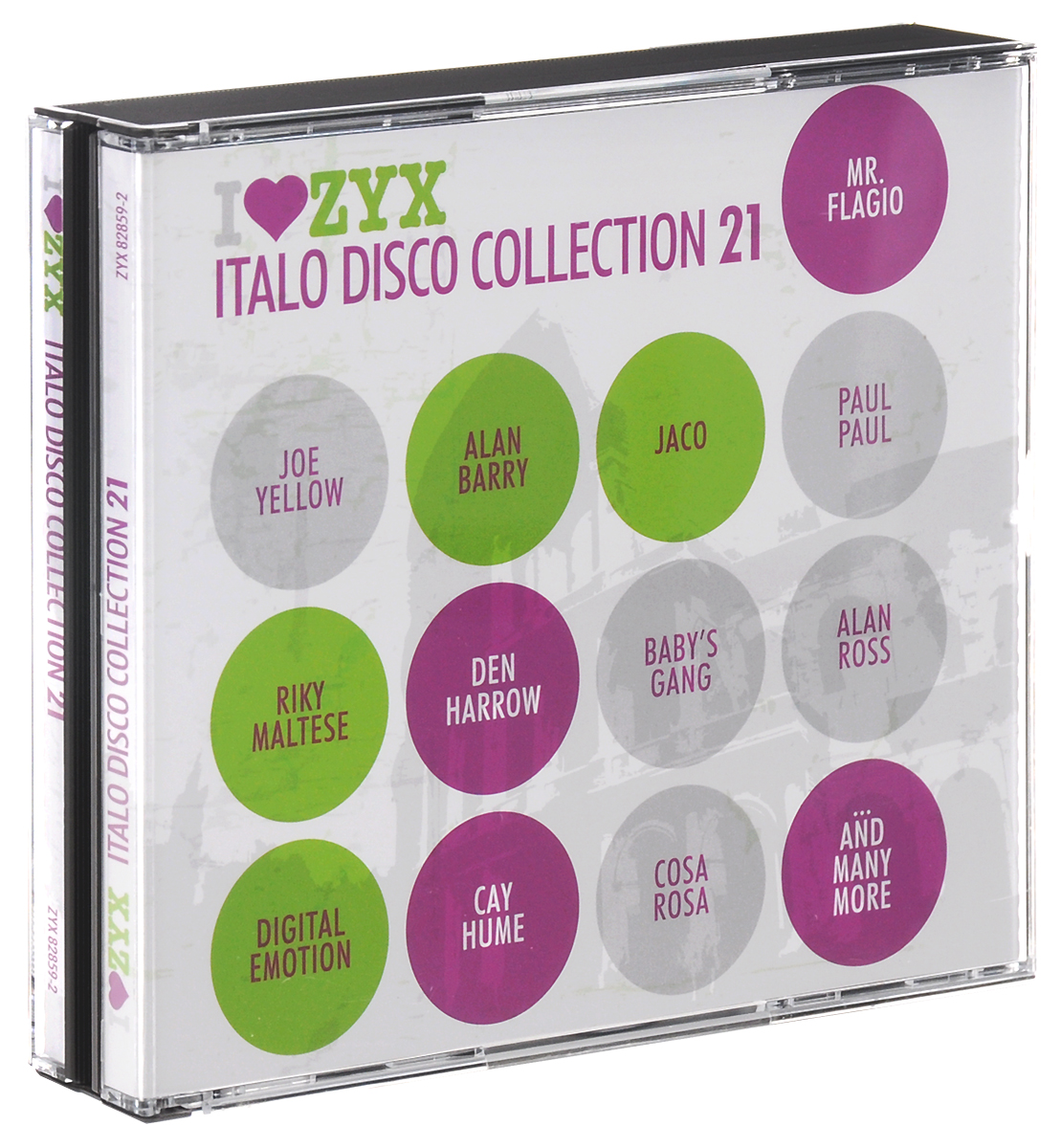 Флагио Мистер,Scotch,Дэн Хэрроу,Алан Барри Zyx Italo Disco Collection 21 (3 CD) цена и фото