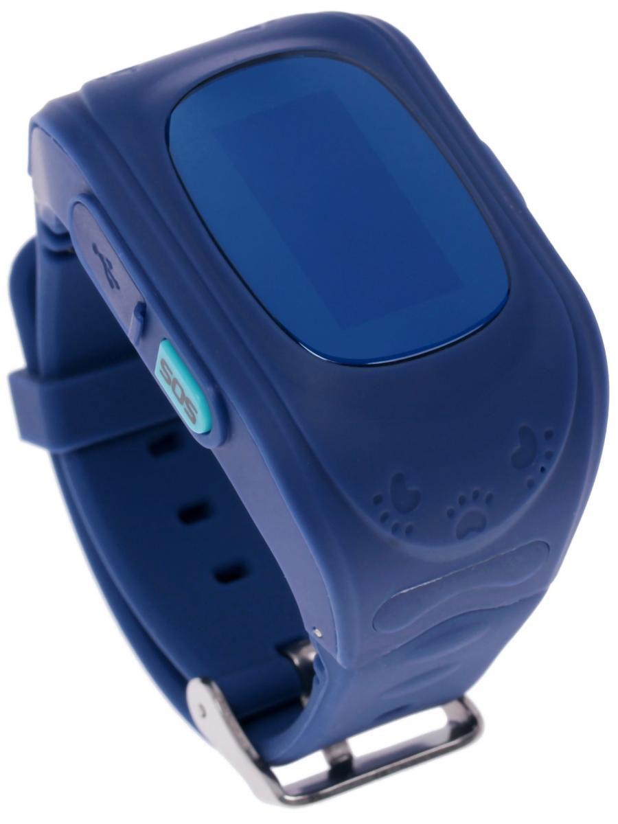 Часы-телефон с GPS Кнопка жизни К911, синий