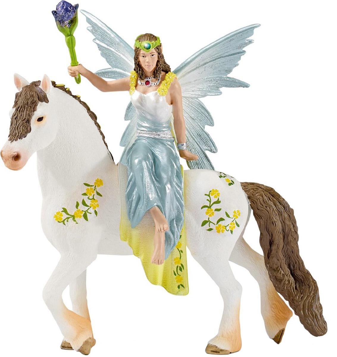 Schleich Фигурка Эльфийка Эяла на лошади цены