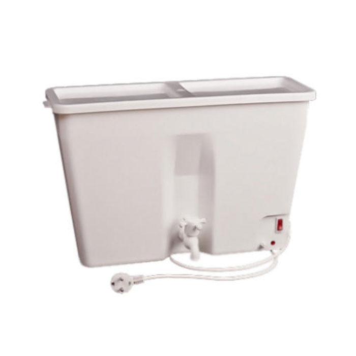 Водонагреватель накопительный электрический ЭлБЭТ ЭВБО-17, 17 л, белый элбэт эвбо 55 black электроводонагреватель