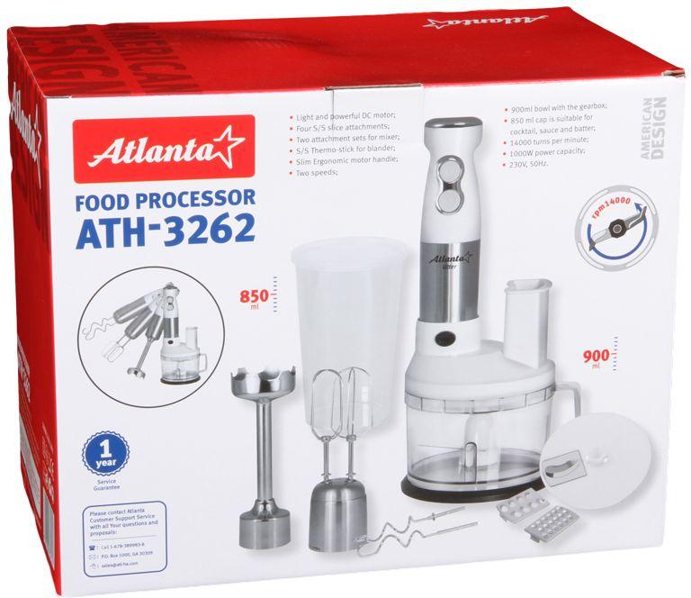 Atlanta ATH-3262кухонный комбайн Atlanta