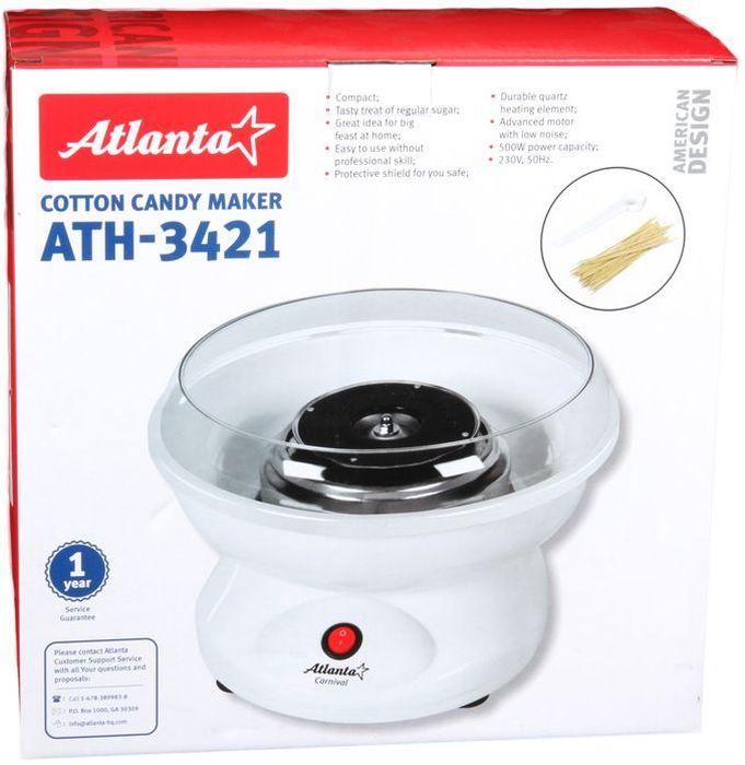 Atlanta ATH-3421аппарат для сахарной ваты Atlanta