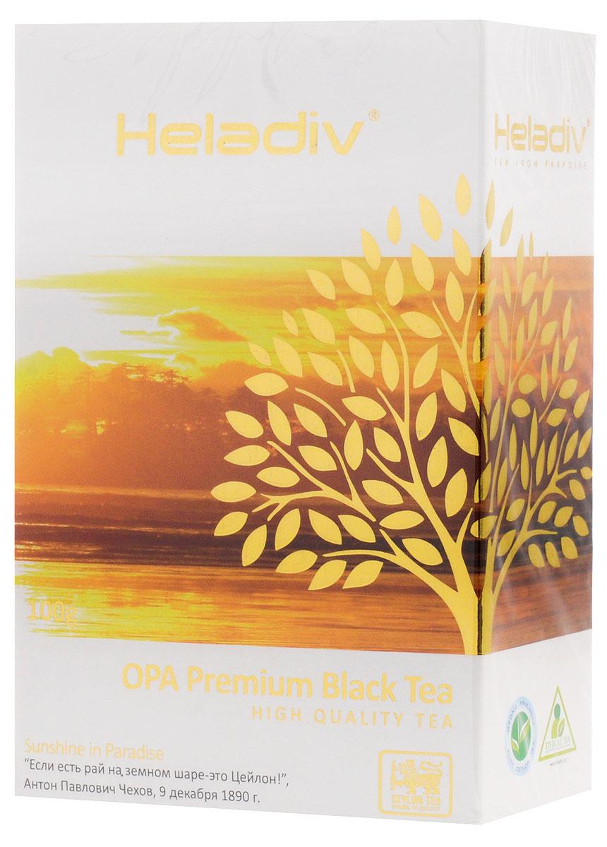 цены на Heladiv Opa чай черный листовой, 100 г