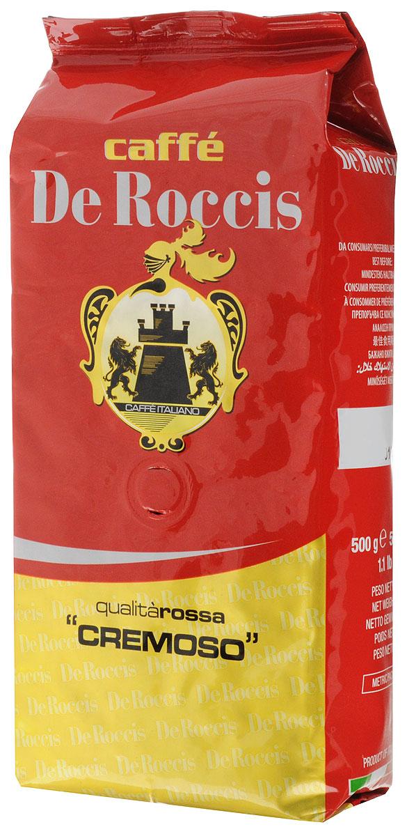 De Roccis Rossa Cremoso кофе в зернах, 500 г цена