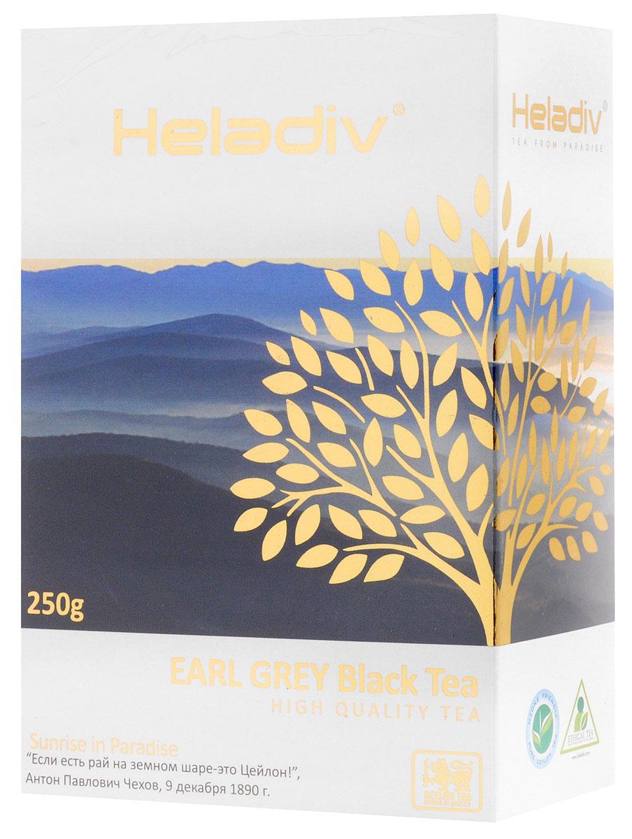 Heladiv Earl Grey Pekoe чай черный листовой с ароматом бергамота, 250 г shere tea престижная коллекция pekoe чай черный листовой 250 г