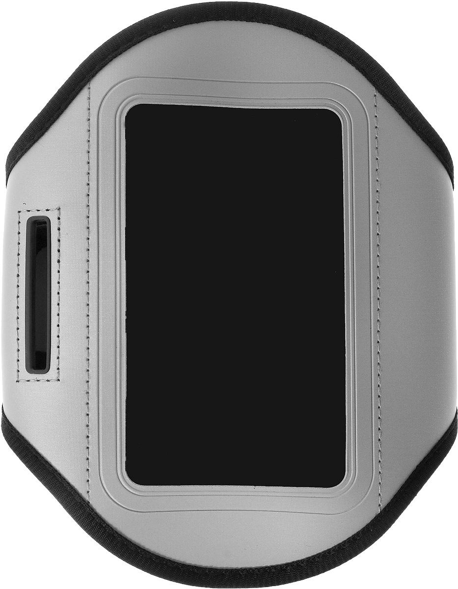 Чехол для телефона Sapfire, на руку, цвет: черный, серый кондиционер кожи sapfire sqk 1827