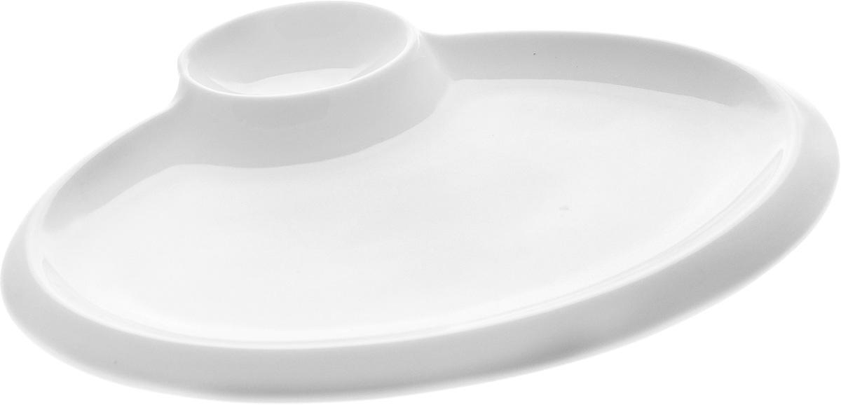 Блюдо Wilmax, 20 х 15,5 см блюдо wilmax 30 х 18 см